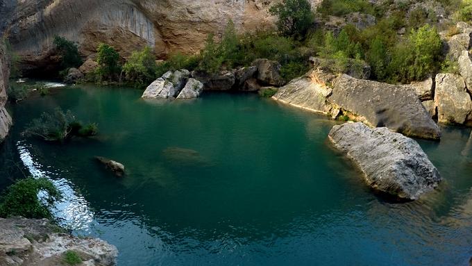 Barranco Ventano del Diablo paisajes de Cuenca