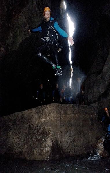 barranco las Buitreras saltos y disfrute turismo activo