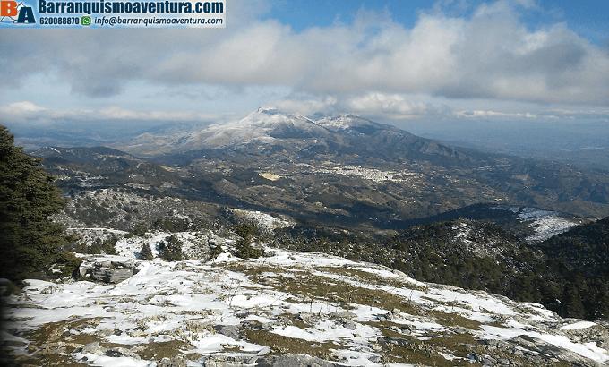 Parque natural Sierra de las Neives, ruta de senderismo y vistas