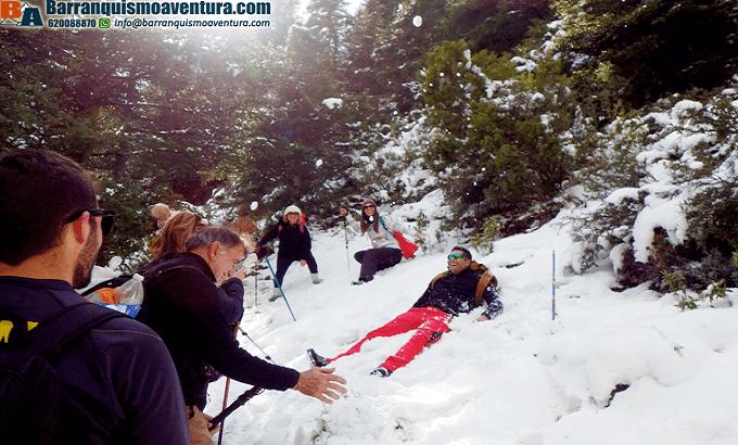 fin de semana en la nieve, ruta por la SIerra de las Nieves