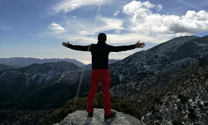 senderismo en Málaga por la sierra de las nieves